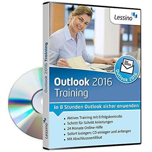 Outlook 2016 Training - In 8 Stunden Outlook sicher anwenden | Einsteiger und Auffrischer lernen mit diesem Kurs Schritt für Schritt die sichere Anwendung von Outlook [1 Nutzer-Lizenz]