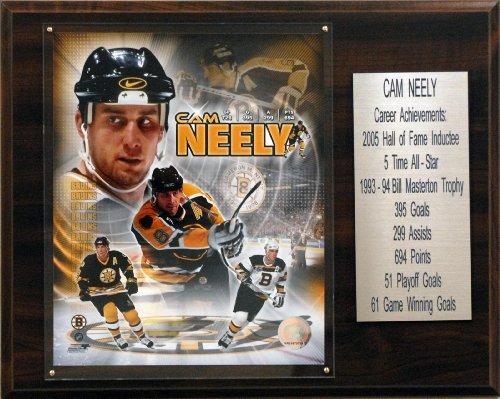 C & I Sammlerst-cke 1215NEELYST NHL Cam Neely Boston Bruins Karriere Stat Plaque