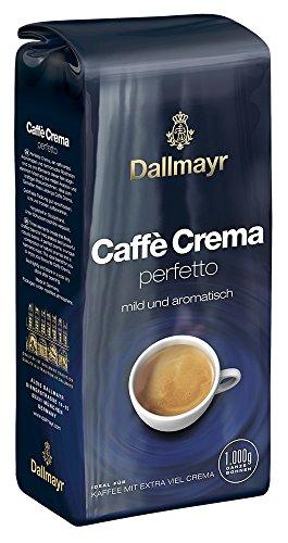Dallmayr Kaffee Caffè Crema Perfetto Kaffeebohnen, 1er Pack (1x 1 kg)