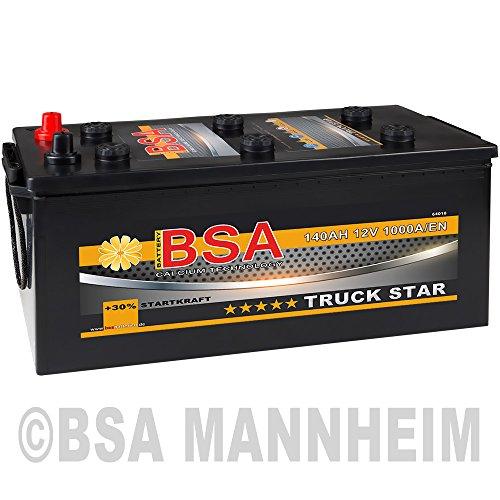 LKW Batterie 140Ah 12V 1000A/EN Starterbatterie statt 120AH 125AH 135AH Schlepper Traktor