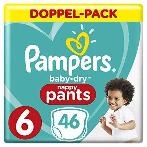 Pampers Baby-Dry Pants Größe6, 46Windeln