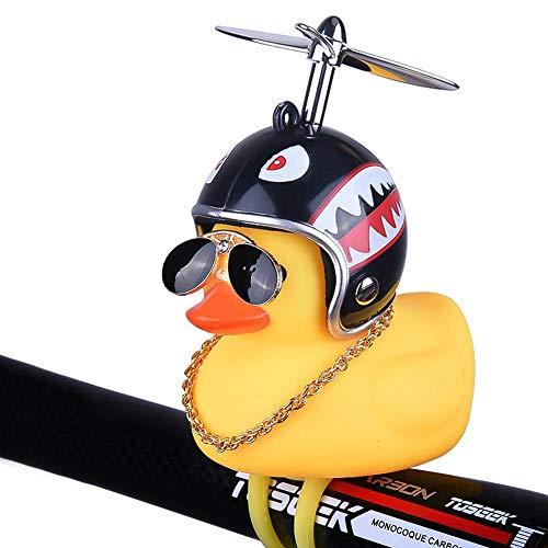 Hamkaw Fahrradhupe, Gelbe Ente, Fahrradklingel, Schöne Gummiente, Fahrradklingel Für Fahrradlenker, Cute Duck Fahrrad-Handtaschen-Bell