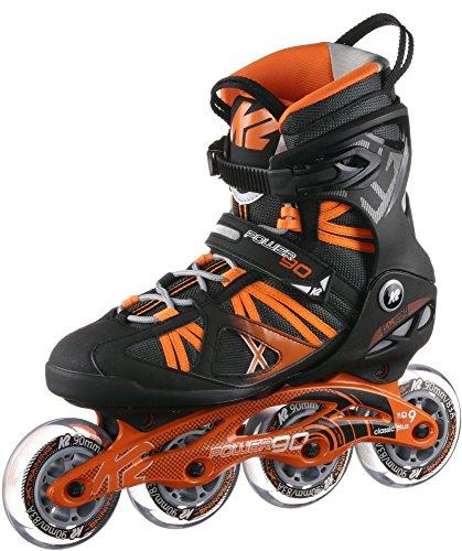 K2 Power 90 Fitness Skates schwarz 43.5