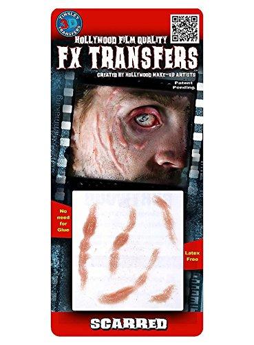 FX Transfers Narben Make-Up Set für Halloween, Fasching und Kostümpartys