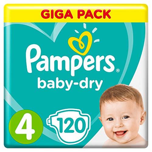 Pampers Baby-Dry Größe4, 120Windeln