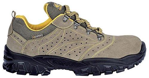 COFRA Sicherheits-Halbschuh Sicherheits-Schuh Arbeitsschuh NEW NILO - S1 SRC - Größe: 43