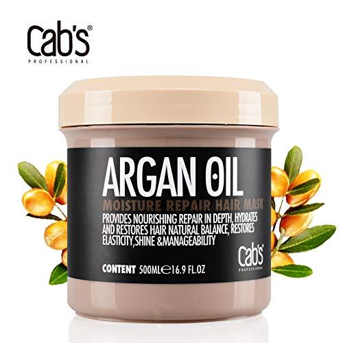Cab's Hair Mask - Premium Haarkur für eine effektive Tiefenreparatur & gegen kaputte Haare -Haarmaske mit spezieller Formel für brilliant glänzende Haare -Deep conditioner für die perfekte Haarpflege