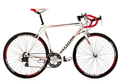 KS Cycling Rennrad 28'' Euphoria weiß Alu-Rahmen RH 55 cm