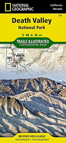 Death Valley National Park: Trails Illustrated National Parks: NG.NP.221 (National Geographic Trails Illustrated Map, Band 221)