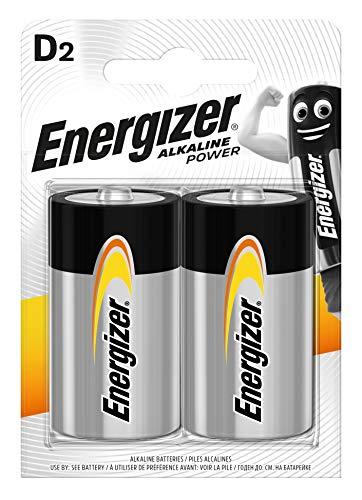 Energizer Batterie Alkaline Power D/Mono/LR20/E95 2er-Packung