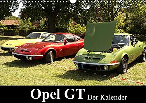 Opel GT Der Kalender (Wandkalender 2022 DIN A3 quer)