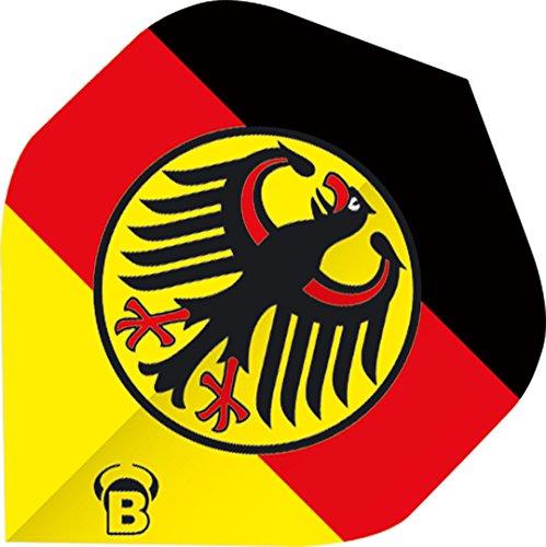 EmbassySports Bull's Motex Dart Flights A-Standard 75 Micorn Deutschland Adler