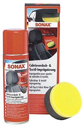SONAX 310200 Cabrioverdeck und TextilImprägnierung, 300ml