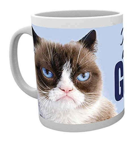 """GB Eye Becher mit der Aufschrift """"Grumpy Cat, Go Away"""", Mehrfarbig"""