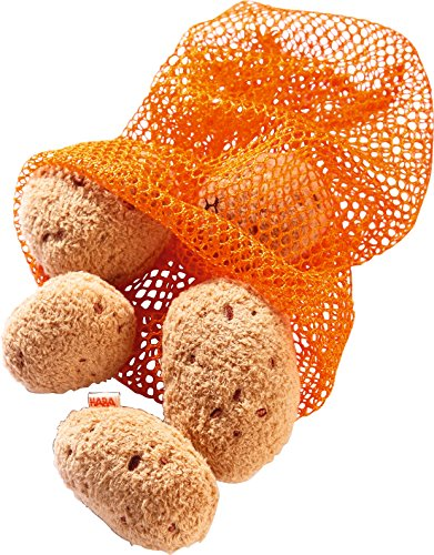 HABA 3860 - Kartoffeln | Pfiffiges Zubehör für Kaufladen und Kinderküche | Kleinkindspielzeug ab 3 Jahren | Ideal für Rollenspiele