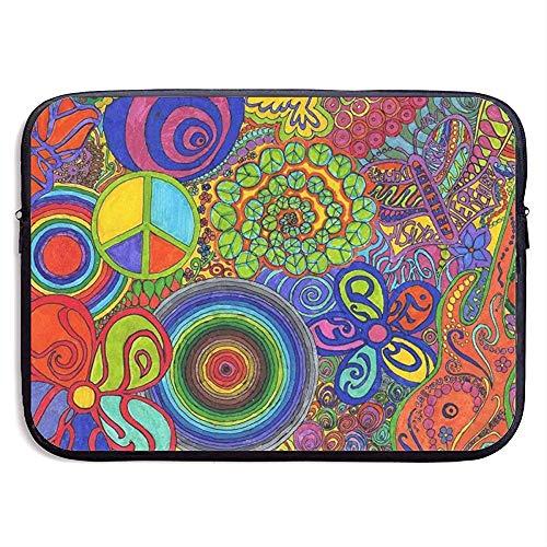 Laptop Sleeve Case Zeichnungen Cap Shaped Bell Notebook Tasche Laptop Umhängetasche Schutz 15 Zoll